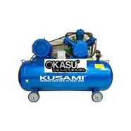 Máy nén khí dây đai KUSAMI KS-W-0.9/8-330L