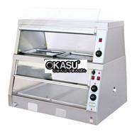 Tủ trưng bày nóng OKASU OKA-2PS