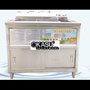 Máy rửa rau củ quả OKASU QX170