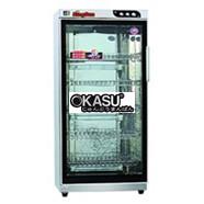 Tủ sấy bát 1 cánh kính Okasu KS-FXC-380