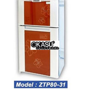 Tủ sấy bát OKASU ZTP80-31 kính hoa/ gương tủ đứng