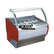 Tủ trưng bày kem ký OKASU OKS-V8(5025)