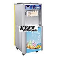 Máy làm kem tươi 3 vòi OKASU OKA-BQ833G (Có Sirô)