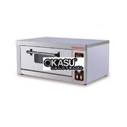 Lò nướng bánh 1 tầng 2 khay dùng Gas Okasu G60-1BD