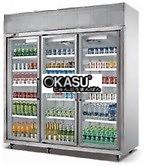 Tủ lạnh trưng bày 3 cửa có quạt R343-1