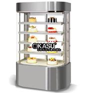 Tủ trưng bày bánh tròn 5 tầng OKASU BX4-1200FY