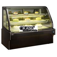Tủ trưng bày bánh kem OKASU OKS-G608FS (Dòng tủ bánh hồ quang đôi)