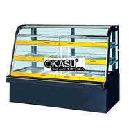 Tủ trưng bày bánh kem có ngăn kéo OKASU JQ-12V3