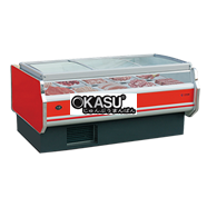 Tủ bảo quản thịt tươi 09E6 OKASU 09E6-A-2.0M (Có nắp)