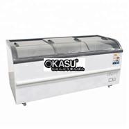 Tủ đông siêu thị kính cong OKASU SD / SC-510YD