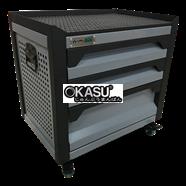 Tủ dụng cụ gia đình 3 ngăn OKASU F0RD3-G (Xanh ghi)
