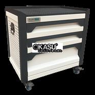 Tủ dụng cụ gia đình 3 ngăn OKASU F0RD3-W (Trắng)
