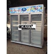 Tủ Mát 3 Cánh Sanden Intercool SPM1500