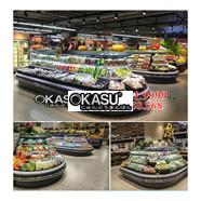 Tủ mát trưng bày siêu thị OKASU OKS-SG15HD