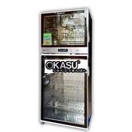 Tủ sấy bát Komasu ZTP118-5 kính trong