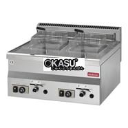 Bếp chiên nhúng đôi Modular  FU-6060-FRG