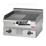 Bếp chiên nửa nhám nửa phẳng gas Modular FU 60/60 FTRG