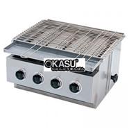 Bếp nướng hồng ngoại dùng gas Restop BBQ-D4