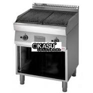 Bếp nướng than nhân tạo Modular FU 70/70 GRL