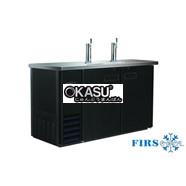 Tủ bảo quản bia 2 vòi rót FIRSCOOL G-BCBD48-2