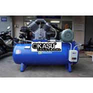 Máy nén khí Shark 3HP 2 cấp 1 pha cho tiệm rửa ô tô xe máy ATT300