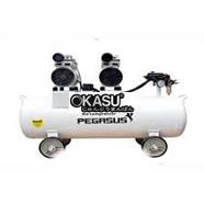 Máy nén khí không dầu, Giảm âm PEGASUS TM-OF550-35L