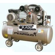 Máy nén khí dây đai Pegasus 2 cấp 3HP TM-V-0.25/12.5-100L