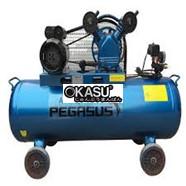 Máy nén khí dây đai Pegasus 4HP dùng điện 3 pha TM-W-0.36/12.5-330L
