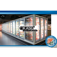 Tủ trưng bày siêu thị CRYSTAL