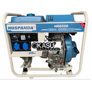 Máy phát điện chạy dầu không giảm âm HUSPANDA HD8500