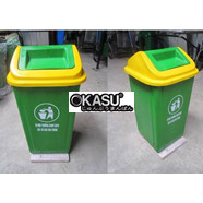 Thùng rác nhựa 90L TRN90