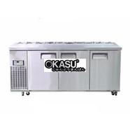 Bàn Salad 1800 3 cánh HAPPYS OKSI-1800S-F