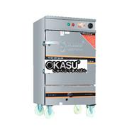 Tủ Hấp Bánh Bao Okasu Kết Hợp Ga Điện Aptomat THBG-GDAP