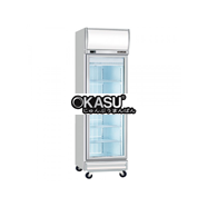 Tủ đông 1 cánh kính Okasu 1D/DF-SG-EV