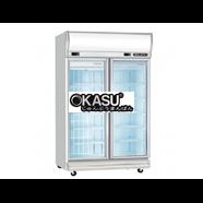 Tủ đông mát 2 cánh kính Okasu 2D / DCF-SM