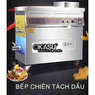 Bếp chiên tách dầu 100L dùng gas OKASU KS-BCTD-B100L