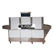 Máy rửa bát công nghiệp dạng băng tải OKASU