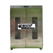 Tủ sấy chén bát 2 cánh Inox OKASU KS-TSC2A