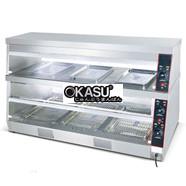 Tủ giữ nóng 2 tầng nhiệt độc lập KS–DH 120