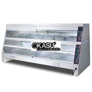 Tủ giữ nóng 2 tầng nhiệt độc lập KS–DH 220