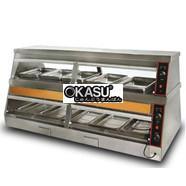 Tủ giữ nóng 2 tầng nhiệt độc lập KS–DH 180