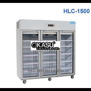 Tủ mát 3 cánh kính Heli HLC-1500