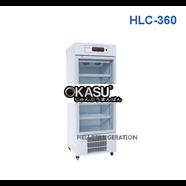 Tủ mát 1 cánh kính Heli HLC-260