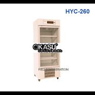 Tủ mát 1 cánh kính Heli HYC-260