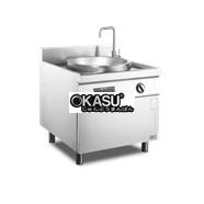 Bếp xào điện từ cỡ lớn có tủ OKASU ZC-C6015A9