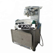 Máy làm tròn và chia bột bằng điện và máy ép bột bánh pizza NT30-2