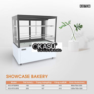 Tủ mát trưng bày bánh kem (Showcase) Kistem 205L KIS-XFS12RS