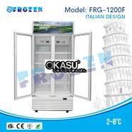 Tủ mát 2 cánh kính Frozen FRG-1200F