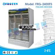 Tủ mát 3 cánh kính Frozen FRG-2400FS