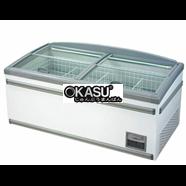 Tủ đông trưng bày siêu thị Okasu OKSIF-150SX